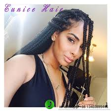 womens hairstyle the box style 24 inch kanekalon ombre braiding hair 3s box braid synthetic twist