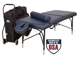 oakworks portable massage table wellspring table package traveler portable massage table