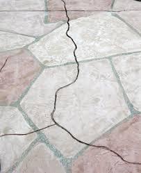 Repair Concrete Patio Cracks Flagstone Can Hide Cracks
