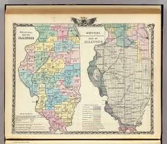 Maps Of Illinois by Political Map Of Illinois Worthens Geological And Climate Map Of