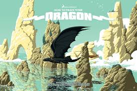 how to train your dragon by florey 411posters