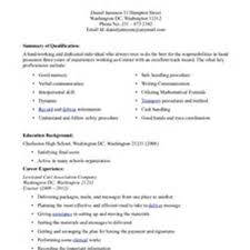 Driver Sample Resume by Courier Resume Free Resume Example And Writing Download