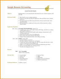 Accounting Student Resume Examples by Accounting Resume Objective 19 Project Manager Resume Objective