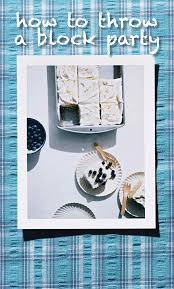 how to throw a block party martha stewart birthday bash and