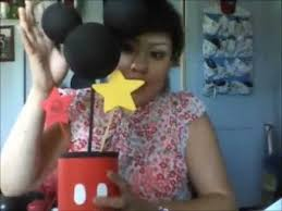 diy formula can mickey mouse centerpiece idea for first birthday