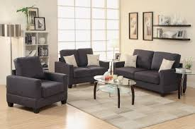 cool 3 piece living room sofa set black coffee table sets pc
