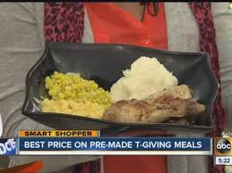 2013 thanksgiving which store offers cheapest pre made