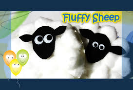 fluffy sheep paper plate series youtube