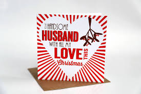 of a romantic christmas love letter for your husband