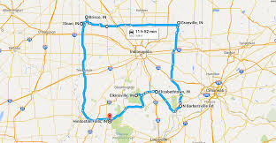 Indiana Road Map The Best Indiana Ghost Towns Road Trip