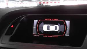 audi parking system advanced audi a4 b8 parking sensors system demo 2008 to 2015