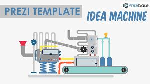 idea machine prezi template prezibase