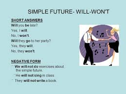 future simple how do we form the future we use the auxiliary