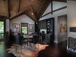 Modern Rustic Home Interior Design by Modern Rustic Lake House In Georgia Lake Bluff Lodge