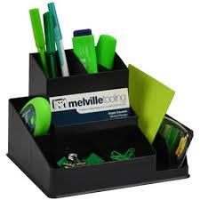 italplast greenr desk organiser black office national