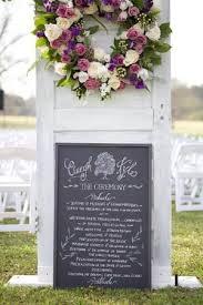 wedding program chalkboard 25 best wedding program chalkboard ideas on wedding