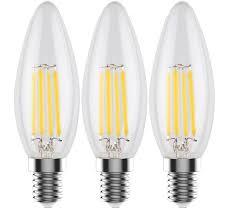 c32 e12 led filament edison style light bulb 4 watt 60w