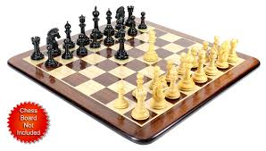 ebony wood encore staunton wooden chess set pieces 4 5