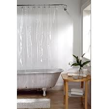 No Liner Shower Curtain Maytex Softy Shower Curtain Liner Odorless No Pvc