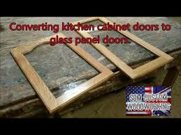 custom kitchen cabinet doors with glass giving kitchen cabinet doors a new look by changing them to