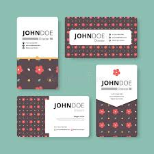 Simple Business Cards Templates Simple Business Card Template Cover Flyer Leaflet Template