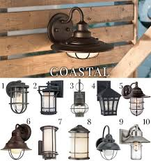 Coastal Outdoor Light Fixtures 5 Outdoor Lighting Styles And Ideas