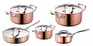 batterie de cuisine en cuivre batterie cuisine cuivre ohhkitchen com
