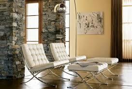 Barcelona Style Sofa Architect Ludwig Mies Van Der Rohe Stylish Furniture