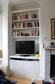 Floating Shelves Entertainment Center by Wall Units Glamorous Bookcase With Tv Shelf Modern Tv Stand Tv