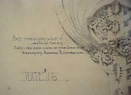 louis sullivan sketch of architectural ornament 1922 a photo