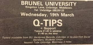 brunelbands brunel rocks u2013 50 years of live bands at brunel