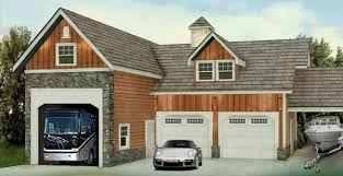 4 Car Garage Plans With Apartment Above by Rv Garages With Living Quarters Shop Space And Other Living