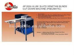 Cutting Blinds Blind Slat Cutting Machine Blind Slat Cutting Machine Suppliers