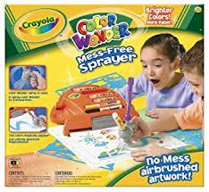 amazon com crayola color wonder sprayer toys u0026 games