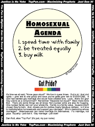 Agenda Meme - the gay agenda 1 advice for friends knowing what you are