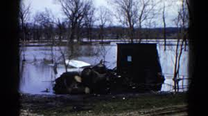 1960 flood damage water high levels house underwater wauconda