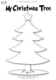100 ideas christmas tree worksheets for kindergarten on