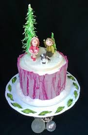 Christmas Cake Decorations Flowers by 708 Best Christmas Cakes U0026 Sugar Creations Images On Pinterest