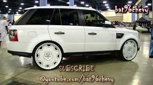 land rover lr4 white black rims all white range rover on 26