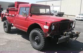 kaiser jeep lifted 1968 kaiser jeep m715 brush firetruck item h6419 sold o