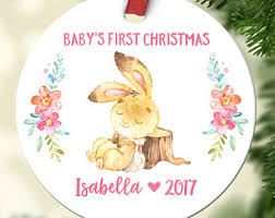 Goddaughter Ornament Babys First Christmas Ornament New Baby Gift Christening Gift