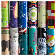 12 rolls all occasion wrapping paper bulk set variety pack gift