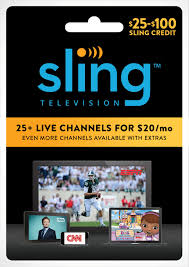 Sling Tv Logo Png Give The Gift Of Live Entertainment Sports News And More With