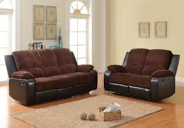 Corduroy Loveseat Homelegance Bunker Reclining Sofa Set Chocolate Corduroy And