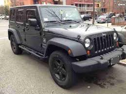 grey jeep wrangler 4 door purchase used 2010 jeep wrangler unlimited sport utility 4 door 3 8l