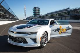 camaro pace car chevy s camaro will once again pace the indy 500