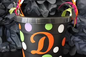 personalized halloween treat bags easy personalized trick or treat halloween bucket two prince