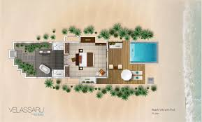 Beach Bungalow House Plans Maldives Beach Villa Velassaru Maldives Beach Villa With Pool
