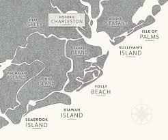 map of sc charleston sc beaches five beaches in charleston south carolina