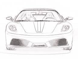 imagenes de ferraris para dibujar faciles dibujo de carros a lapiz ferrari imagui
